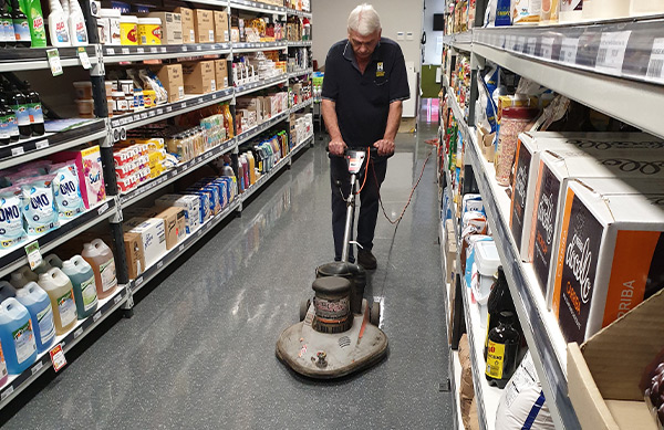 Regular Floor Maintenance
